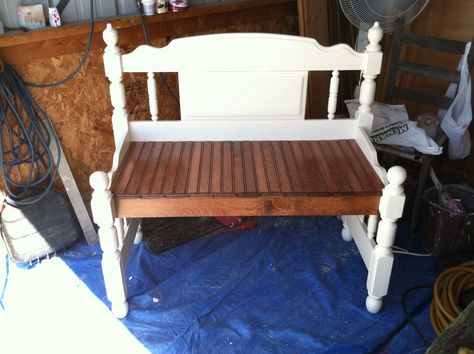 Terrific Love Seat Size Bench From Twin Bed Diy Projects Ibusinesslaw Wood Chair Design Ideas Ibusinesslaworg
