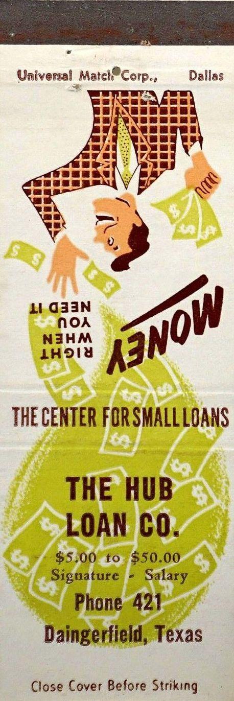 26 Hub Loan Co Daingerfield Tx Bank Loan Loan