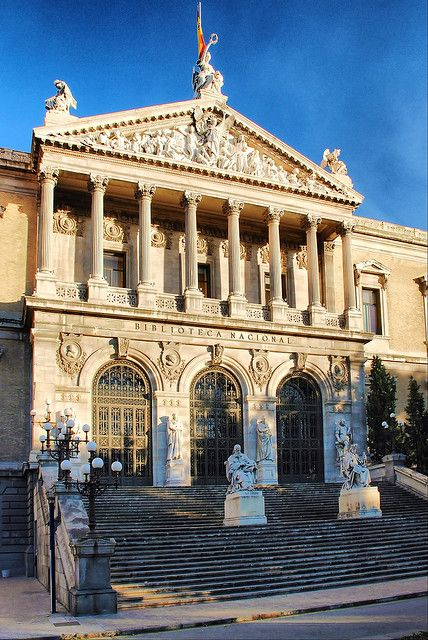 La Biblioteca Nacional en Madrid