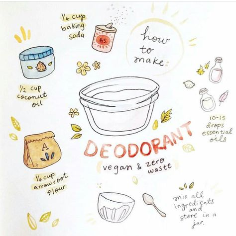 How to make your own deodorant for natural living