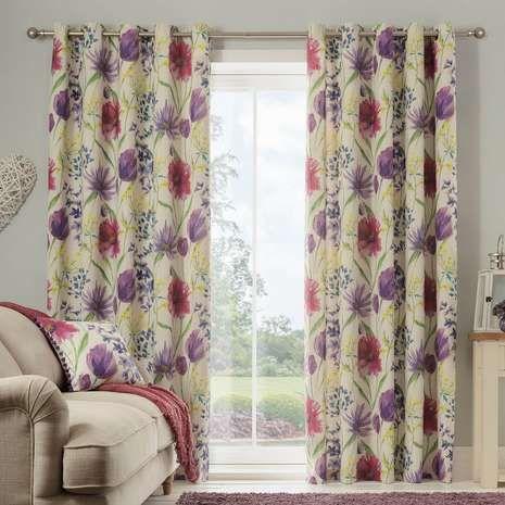 Elise Eyelet Curtains Curtains Curtains Dunelm Printing On Fabric