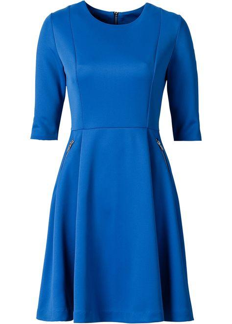 Bekijk nu:Speelse scuba jurk van het merk BODYFLIRT met uitlopend rokdeel. Open…