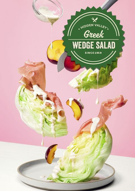 Stone fruits gone crazy. Check out this unreal stone fruit and prosciutto wedge salad to make summer last year round.  Full recipe: http://hiddnval.ly/D9rKTS
