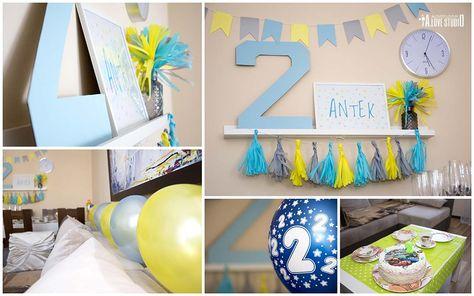 40ad24e1a564f6 dekoracje urodzinowe na drugie urodziny dziecka