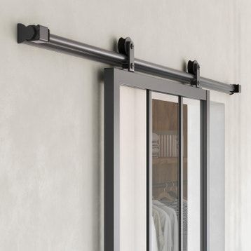 Systeme Coulissant Systeme Galandage Rail Porte Coulissante Systeme Galandage Leroy Merlin Rail Coulissant Loft Porte Coulissante