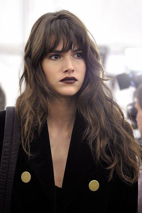 New hair trends bangs colour Ideas