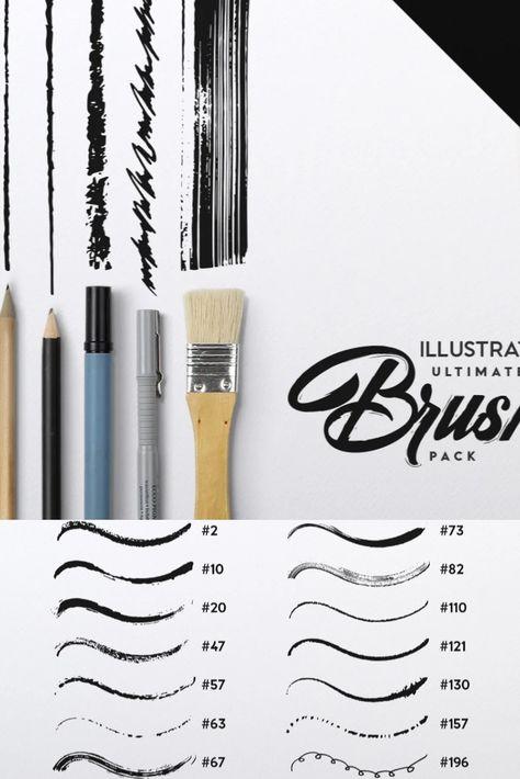 Illustrator's Ultimate Brush Pack