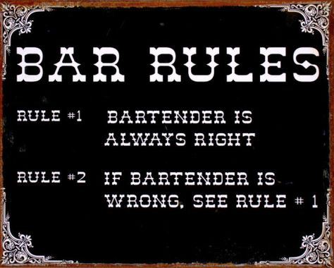 Where to get different types of bar signs In this lens you will find out about all the different types of vintage bar signs & pub signs as well as other great vintage, retro, and new examples of each type of sign.