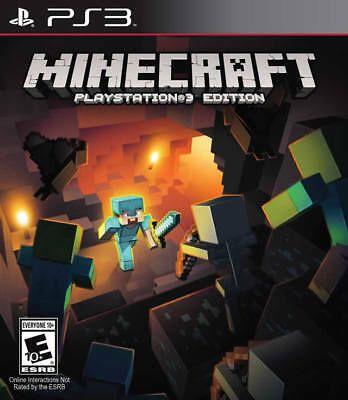 Minecraft Ps3 New Playstation 3 Playstation 3 Minecraft Game Nowplaying Playstation Minecraft Sony Playstation
