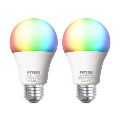 Peteme Smart LED Light Bulb (2-Pack) - amazon.com