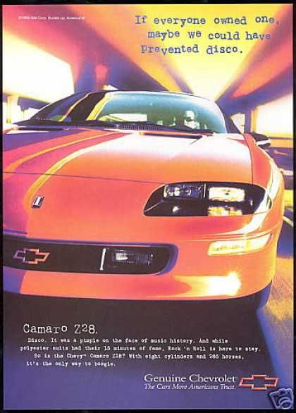 Chevrolet Camaro Z-28 Z28 Car 285 HP (1997)  http://cn.ae.alibaba.com/wsproduct/product_detail.htm?productId=715383750