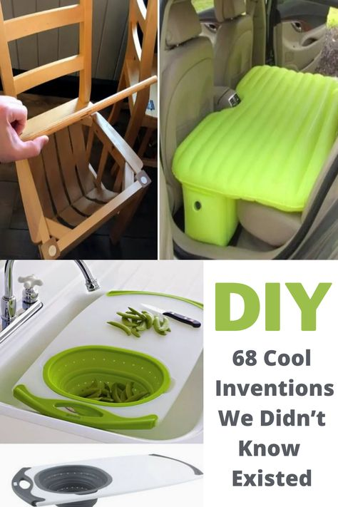 Amazing Life Hacks, Useful Life Hacks, Diy Arts And Crafts, Diy Crafts, Diy Rv, Cool Inventions, New Gadgets, Home Repair, Cool Tools