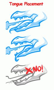 How To Draw A Fire Breathing Dragon Dragons Breathing Fire By