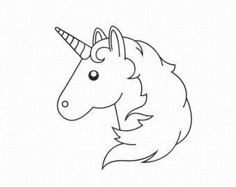 Emoji Unicorn Coloring Pages Geburtstag Geburt