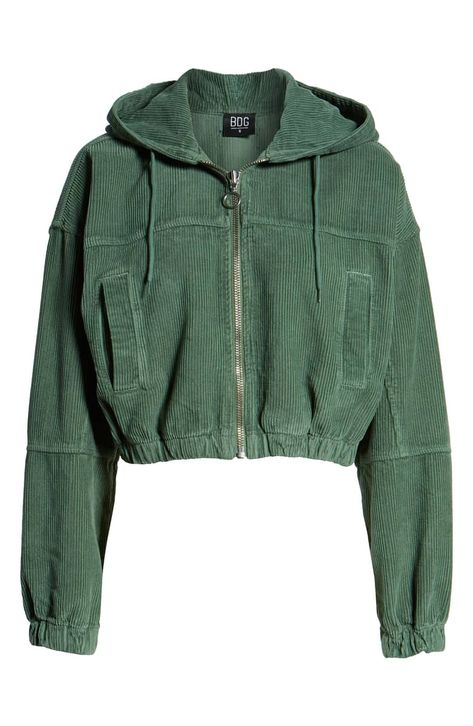 Urban Outfitters Crop Corduroy Bomber Jacket, Alternate, color, KHAKIYou can find Urban outfitters and more on our website. Urban Look, Estilo Cool, Jugend Mode Outfits, Cute Jackets, Cropped Jackets, Cute Comfy Outfits, Nordstrom, Teen Fashion Outfits, Girl Outfits