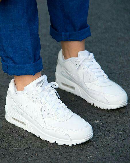 zapatillas nike blancas mujer casual