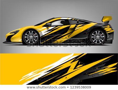 Yellow Online Design Goodwood Track Sticker Car Decal Race Circuit