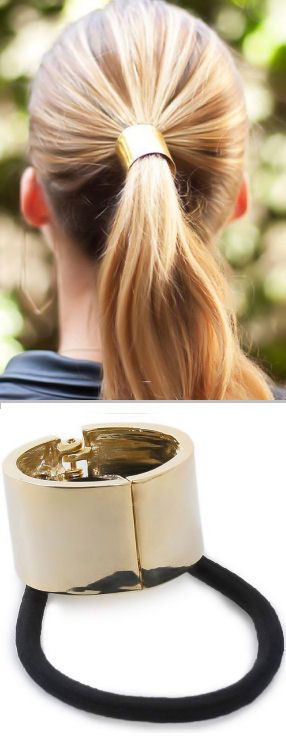 Ponytail Hair Cuff <3