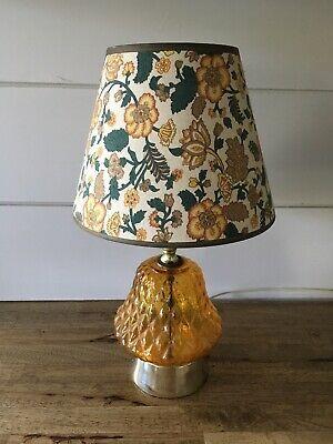 Vintage 1960s 1970s Table Lamp Retro Bedside Lamp Vintage Lamp Ebay In 2020 Retro Bedside Vintage Lamps Bedside Lamps Vintage