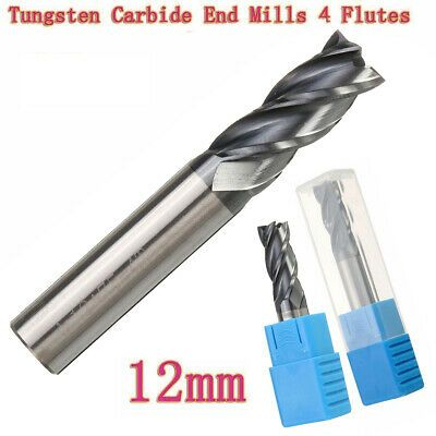 Tungsten Steel 4 Flute Mill Machine Tools Endmill Cutting Milling Cutter