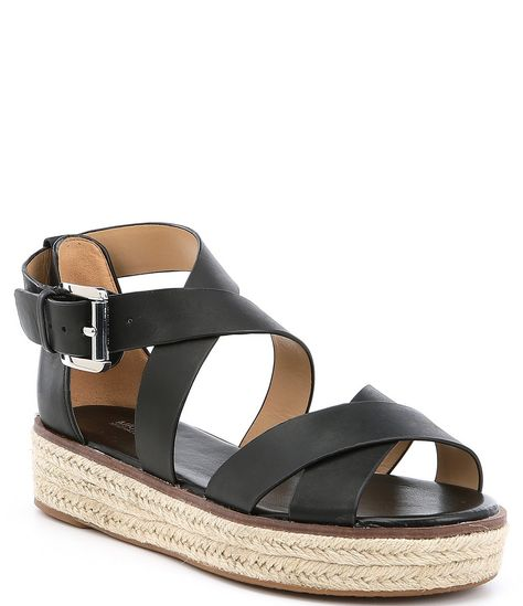 low cost cute cheap lower price with MICHAEL Michael Kors Darby Vachetta Leather Flatform ...