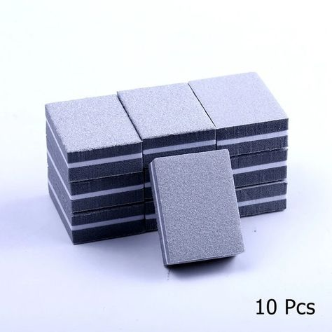 10/25/50pcs Double-Sided Mini Nail File Blocks Nail Buffer Tools – Atom Oracle