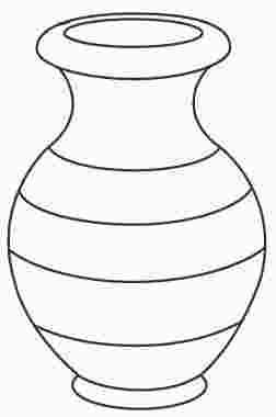 Coloring Page Vase Coloring Pages Coloring Pages For Boys Vase