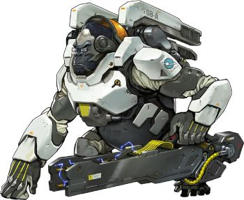 350px Winston Portrait Png 350 287 Overwatch Winston Overwatch Concept Art Characters