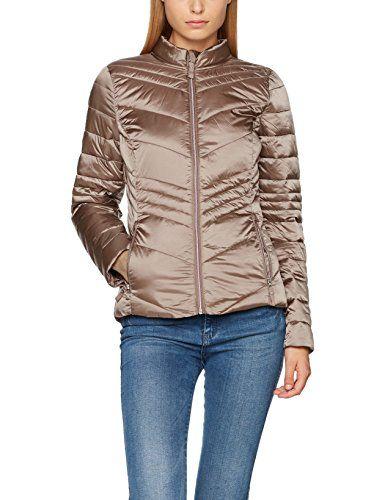 TOM TAILOR Damen Jacke Lightweight Jacket, Beige (Light V