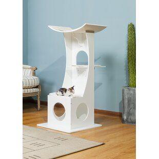 Archie Oscar Hennings Handmade Inspired Cat Tree Cat Condo Cat Furniture Cat Tree Condo