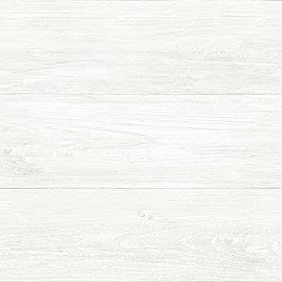 Nuwallpaper Nu2494 Reclaimed Shiplap Peel Stick Wallpaper White Off White Wallpaper Amazon Canada White Wood Wallpaper Peel And Stick Shiplap Nuwallpaper