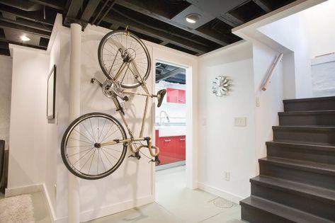 13 formas de guardar sua bicicleta dentro de casa sem comprometer sua decoração - limaonagua