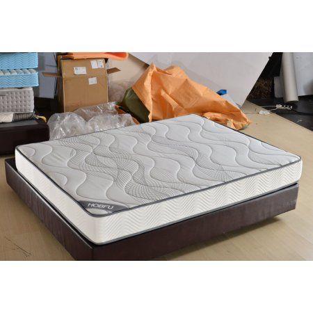 Queen Size 8 Inch Memory Foam Ergonomic Design Comfortable High
