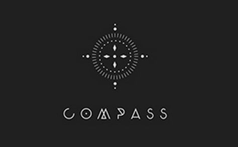 I like the simplicity and interest in compass logo. Not a fan of the font.