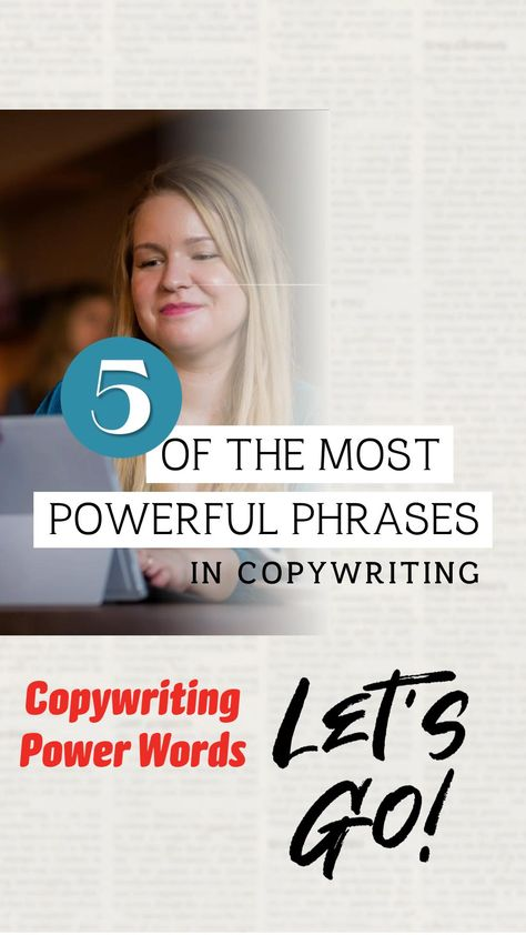 Copywriting Phrases That Connect - The BEST Copywriting Power Words