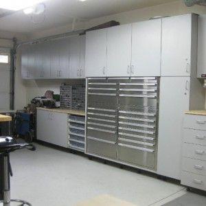 Storage Cabinet Set