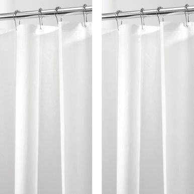 Extra Wide Peva Shower Curtain Liners For Bath 108 X 72 Pack
