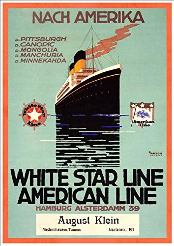 To South America A4 Glossy Vintage Cruise Line Poster Art Print Royal Mail Line