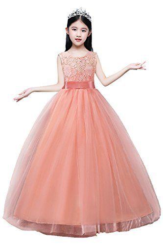 Neuer Artikel Dressfan Madchen Kleid Kinder Lange Party Hochzeit Prinzessin Kleid Tull Dressfan Madchen Kleid Kinder Lan Prinzessin Kleid Kleider Madchen