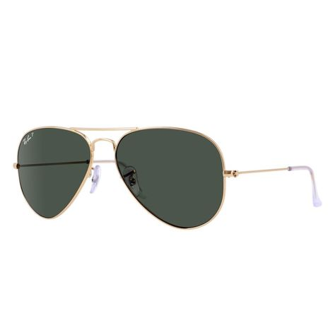 93a4b780f0 Ray-Ban RB3025 001/58 Aivator Classic Gold Frame Polarized 55mm Lens  Sunglasses