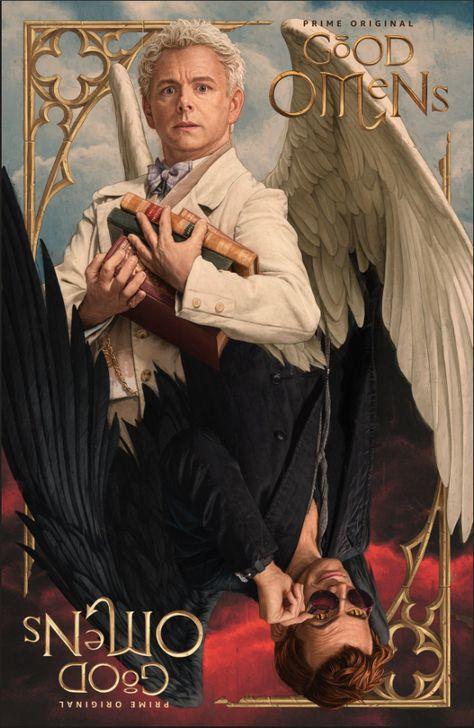 Good Omens: Ecco il primo poster ufficiale della serie tv tratta dal romanzo di Neil Gaiman - Nerdmovieproductions