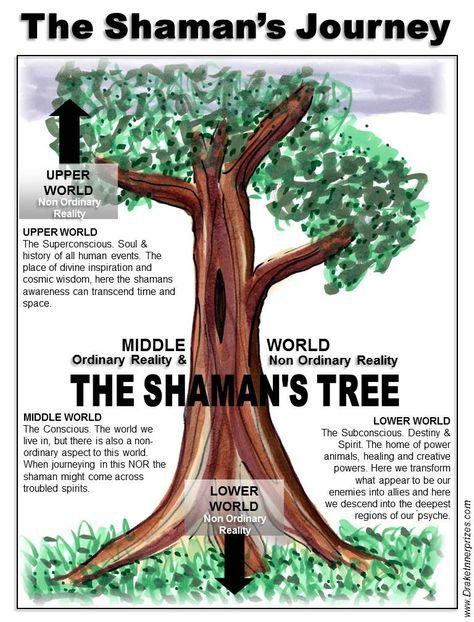 °Shaman's Tree ~ Shamanism, a very deep & powerful healing of the soul.