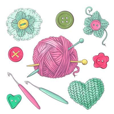 Transparent Knitting Clipart - Free Transparent PNG Clipart Images Download