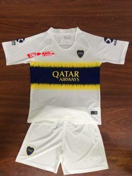 sports shoes 9abbe a4a3d 2018-19 Cheap Youth Kit Boca Juniors Away Replica Soccer ...