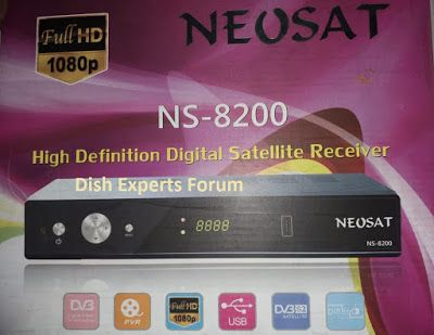 NEOSAT NS-8200 Power vu Software Download | Dish Receivers Software