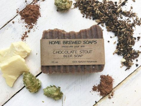 Chocolate Soap, Beer Soap, Gift for Her, Gift for Girlfriend, Gift for Women, Homemade Soap, all natural soap, soap, gift for beer lover,#chocolate #girlfriend #homemade #lover #natural #women