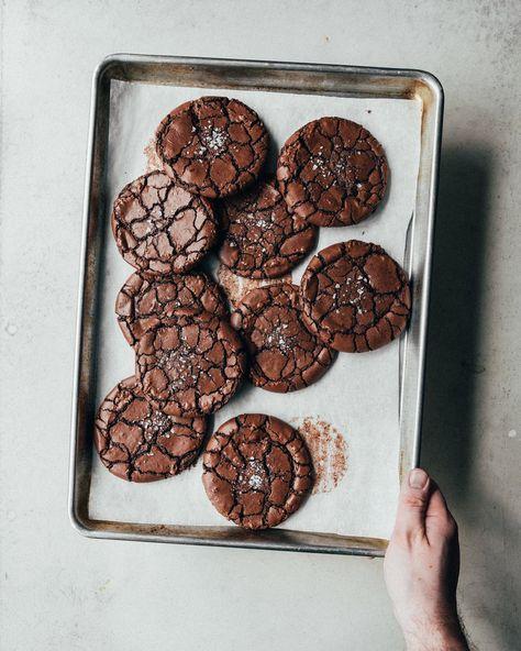 Brownie Crinkle Cookies — The Boy Who Bakes