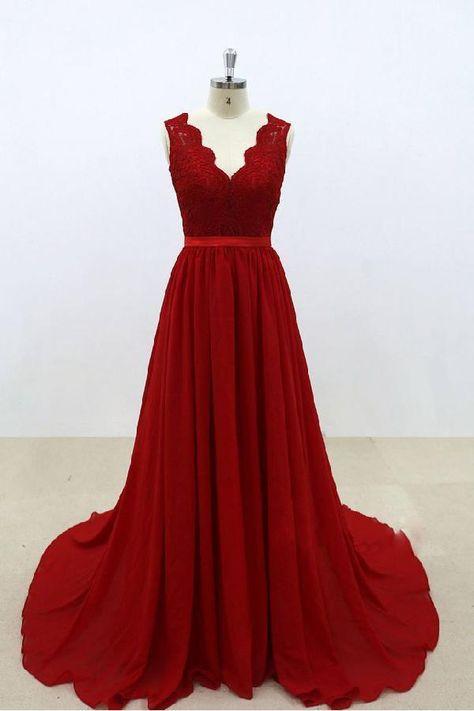bc19b71b5baf Bridesmaid Dresses Backless, Bridesmaid Dresses V-neck, Prom Dress, Custom  Made Bridesmaid Dresses, Chiffon Bridesmaid Dresses  #CustomMadeBridesmaidDresses ...