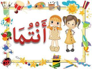 معلقات الضمائر موارد المعلم Learning Arabic Teach Arabic Learn Arabic Alphabet