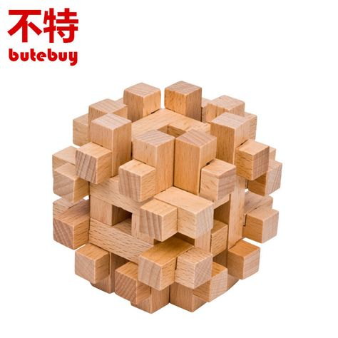 6.38US $  Unlocking ring Wooden Puzzle Brain Teaser Tangram Educational Toy Puzzle Bois Intellect Ball Wood Toys For Children wood toys for children wooden toyseducational toys - AliExpress
